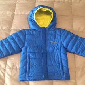 Columbia boys 3T insulating jacket